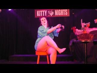 Kitty Nights - Precious Metal Burlesque Performance