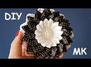 Цветы Канзаши Мастер класс Flowers Kanzashi Tutorial DIY