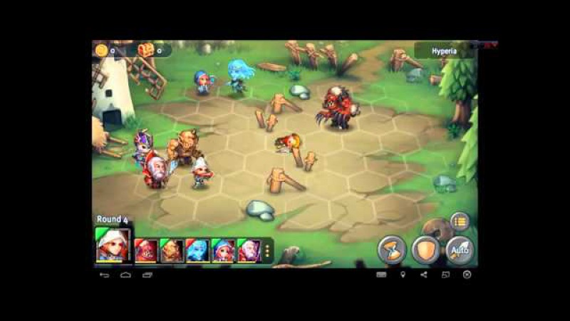 Heroes Tactics Heroic Mode Level 1-5 ★★★ (F2P Heroes No Pegasus)