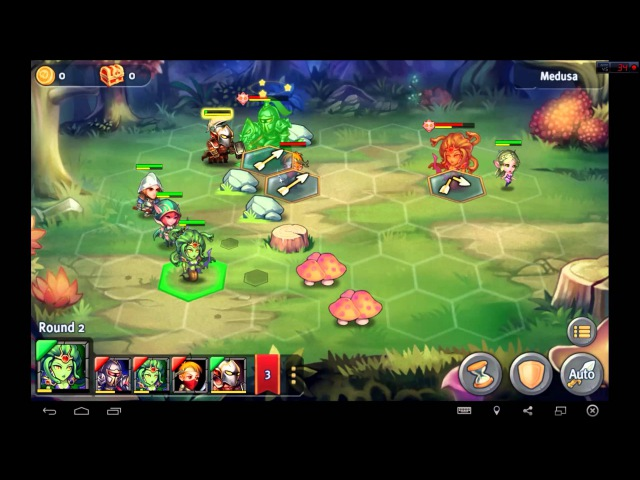 Heroes Tactics Heroic Mode Level 2-4 ★★★ (F2P Heroes No Pegasus)
