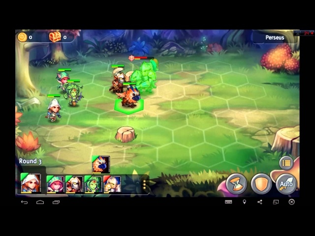 Heroes Tactics Heroic Mode Level 2-1 ★★★ (F2P Heroes No Pegasus)