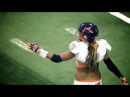 Американский женский футбол ПОЛНАЯ ЖЕСТЬ(избиения,травмы,переломы)