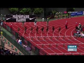 Kendra Harrison 12 24s WL 100m Hurdles Women Eugene Diamond League 2016
