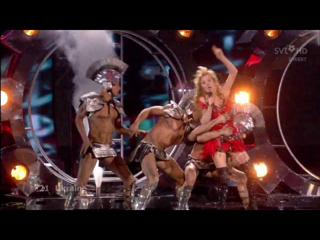 Eurovision Song Contest 2009 Final - Ukraine - Svetlana Loboda - Be my Valentine! (Anti-Crisis Girl)