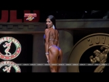 Angelica Teixeira / USA - 4th place at the Arnold Classic USA 2016 in Bikini Division