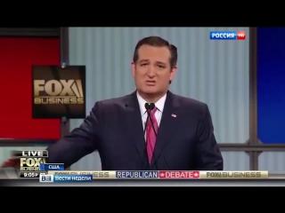Статуя Свободы показала средний палец кандидату в президенты США