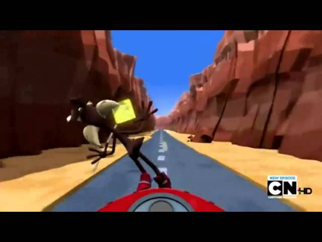 Road Runner Wile E Coyote-Looney Tunes(NEW)