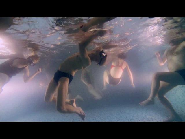 Контактная импровизация в воде Сontact improvisation in water