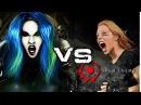 Alissa White-Gluz VS Angela Gossow | ARCH ENEMY