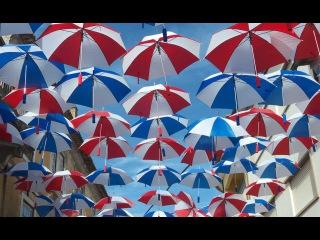 Umbrellas in the sky, Agueda, Portugal. Guarda-chuvas, Agueda 2015.