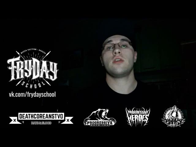 FRYDAY SCHOOL   Mishok The Bear x Sergei Frol - Cuntcrusher (Infant Annihilator vocal cover)