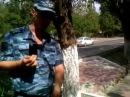 Беспредельщики в ВВ МВД..Офицеры роты охраны с\п Солнечный выбрасывают за КПП в ...