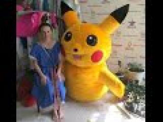 Как я делаю ростовую куклу Пикачу Pokemon Go