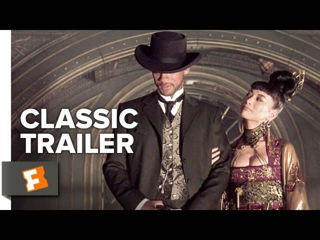 Wild Wild West 1999 Official Trailer Will Smith Salma Hayek Movie HD