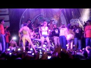 Chicas Biker se quita la ropa MotoFiesta Guayabitos 2014 HD