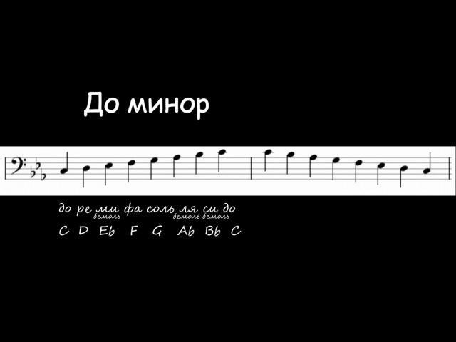 3 способа сыграть минорную гамму