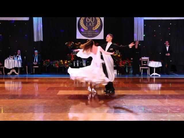 Sergiu Rusu Dorota Makar Viennese Waltz Show Dance Krakow 2015