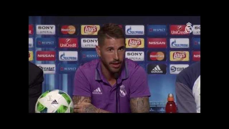 """Ramos: """"Queremos lograr un nuevo título y dedicárselo a nuestra afición"""""""