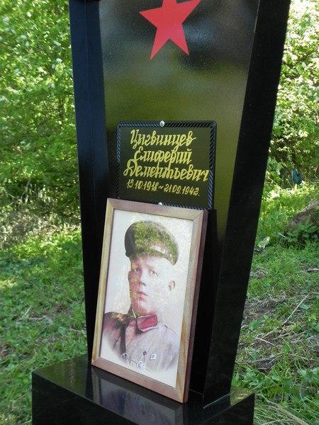 памятник Цыгвинцева Елиферия Дементьевича