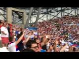 Гимн России на матче с Англией Евро 2016