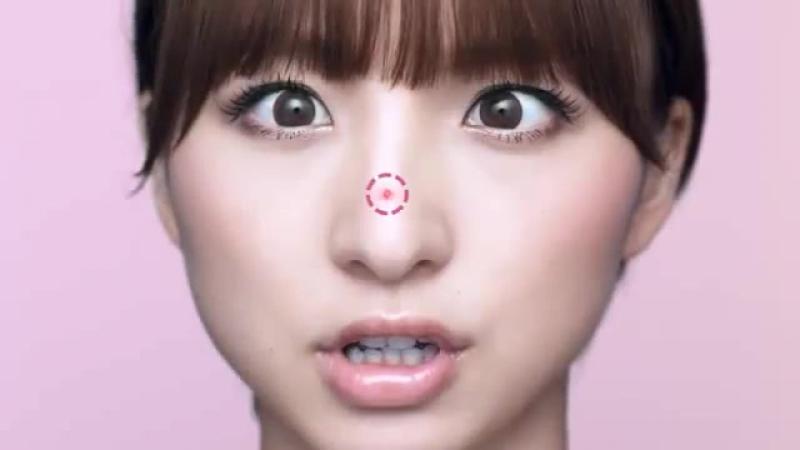 Японская реклама средства от прыщей