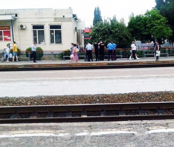 Сегодня вечером в Таганроге был «заминирован» Новый вокзал