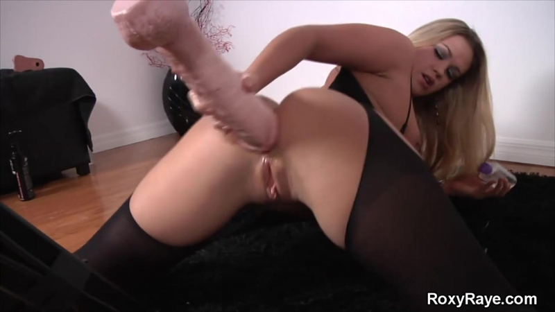 Roxy Raye - My New Fucking Machine solo dildo fisting anal gaping секс машина анальная мастурбация соло домашнее запись привата