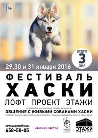 Фестиваль ХАСКИ в ЛОФТ ПРОЕКТЕ ЭТАЖИ