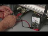 Проверка клапана залива воды посудомоечной машины