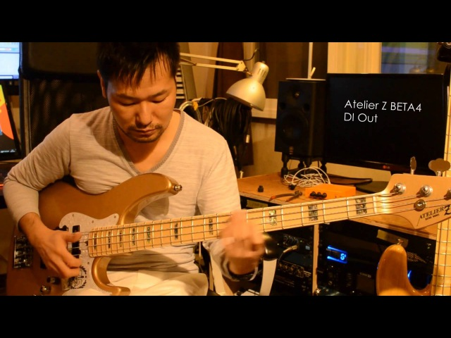 Fender,Sire,Atelier Z Active Jazz Bass Shootout (English CC)