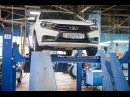 Lada Vesta Cross Измеряем клиренс Kalina Cross Largus Cross и Vesta