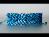 pulseras de hilo anchas faciles de hacer