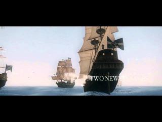 Корсары 2 Пираты Карибского Моря: Новые Горизонты Бета 4 | ТРЕЙЛЕР.