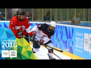 Ice Hockey - USA win Men's gold | Lillehammer 2016 Youth Olympic Games