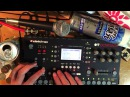 Octatrack live sampling Test Elektron