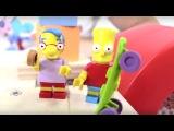 Симпсоны. Видео для детей: Нельсон против паркура