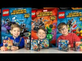 Lego DC Comics and Marvel Super Heroes Mighty Micros! ALL SETS Review