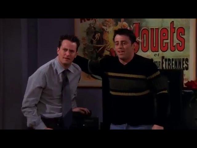 Chandler sings Space Oddity