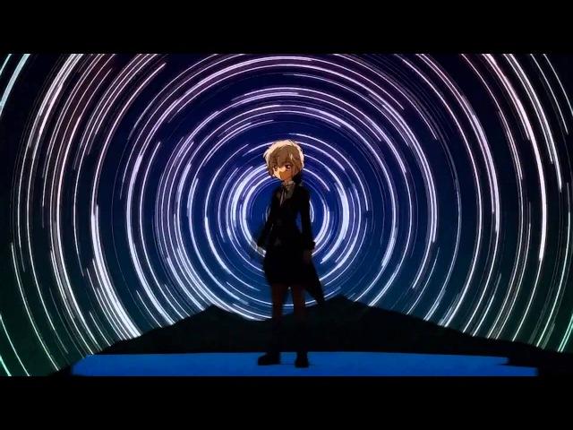 AMV dance video. Dj Луна на Небе зажигает прожектор mix