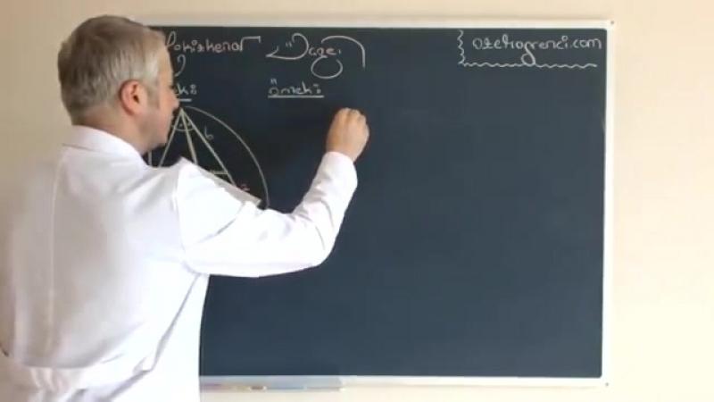 Ikizkenar Üçgen Videosu ve Ders Notu 1