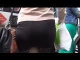 SEXy Girl in Mini Skirt !!! BIG ASS !!! Очень ШИКарная девушка в короткой юбке и с Большой попой !!! Part Four