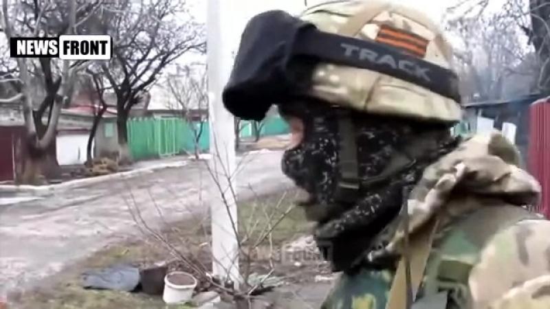 Осколочно фугасным по дому ДНР ЛНР война на украине укропы привет войнушка ВС