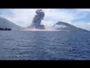 Извержение вулкана в Папуа - Новая Гвинея