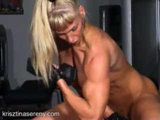 Голая бодибилдерша 002 - Nude bodybuilding