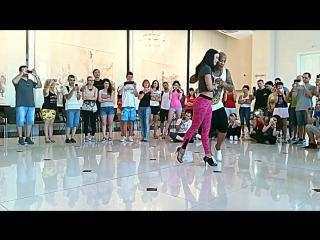 Edo e Alessandra Kizomba Class in Ruse-Bulgaria