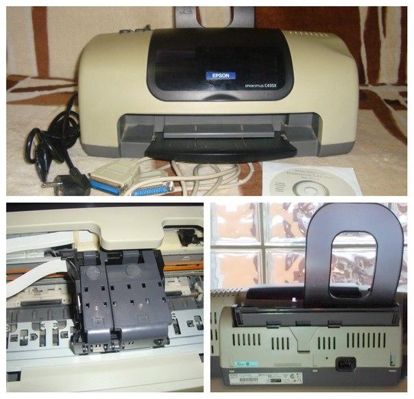 Продам струйный принтер Epson Stylus C43SX.