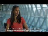 «Стартрек: Бесконечность»: интервью Зои Салдана на съемочной площадке (русс. суб. ). Отрывок #2