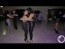 Шикарное исполнение танца бачата- Desiree and Julianna Bailando Bachata
