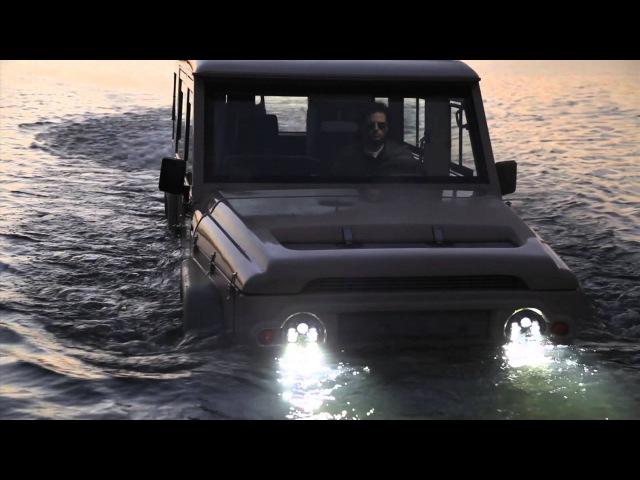 Amphibious 4x4: The Amphicruiser