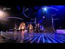 The Cast Of Glee - Dont Stop Believing - X Factor Semi Final FULL HD